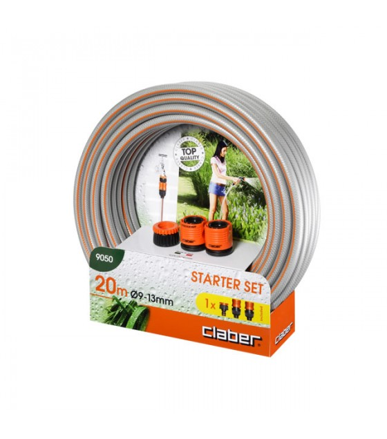 CLABER 9050 - STARTER SET HORTUM 20 MT 9-13 MM